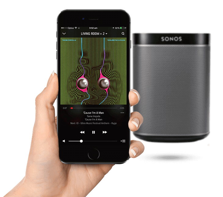 Sonos Play:1 and Sonos App