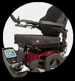 Housemate Joystick on wheelchair