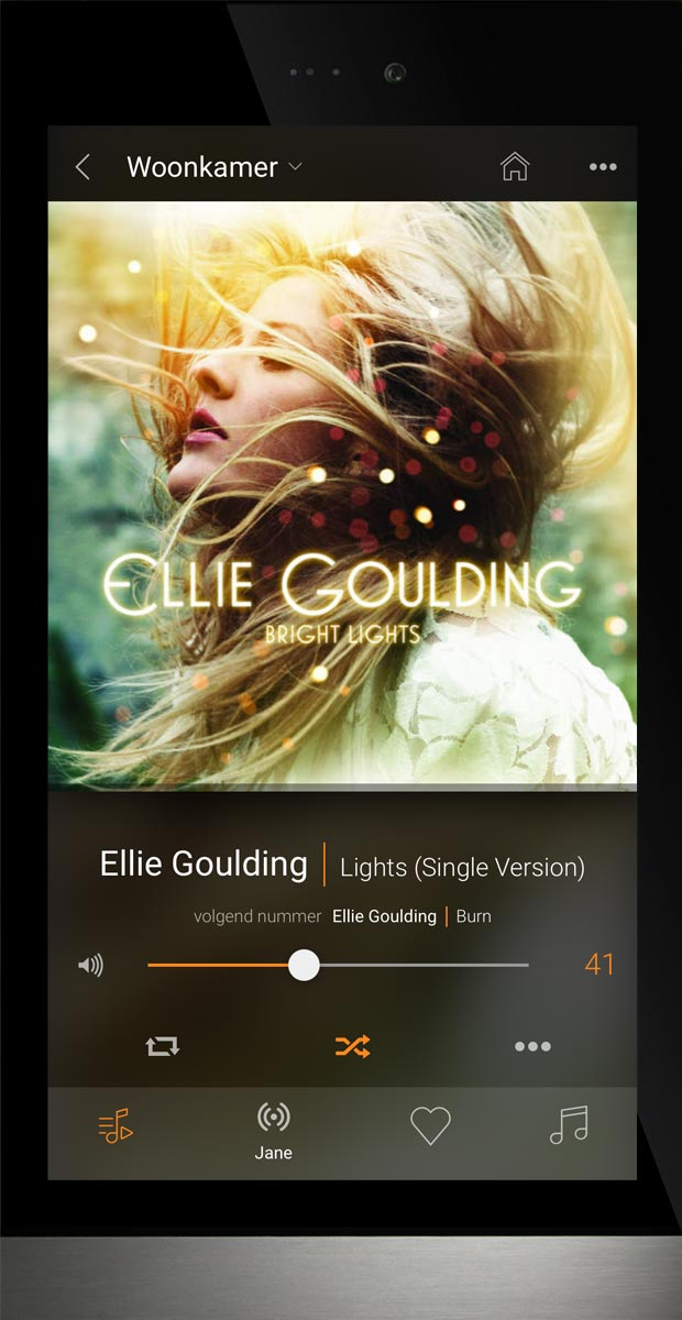 Basalte Ellie - showing music now playing